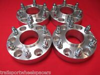 4 Pcs 6 Lug Chevy Gm 1500 Truck Tahoe (2) Hub Centric Wheel Spacers Adapter