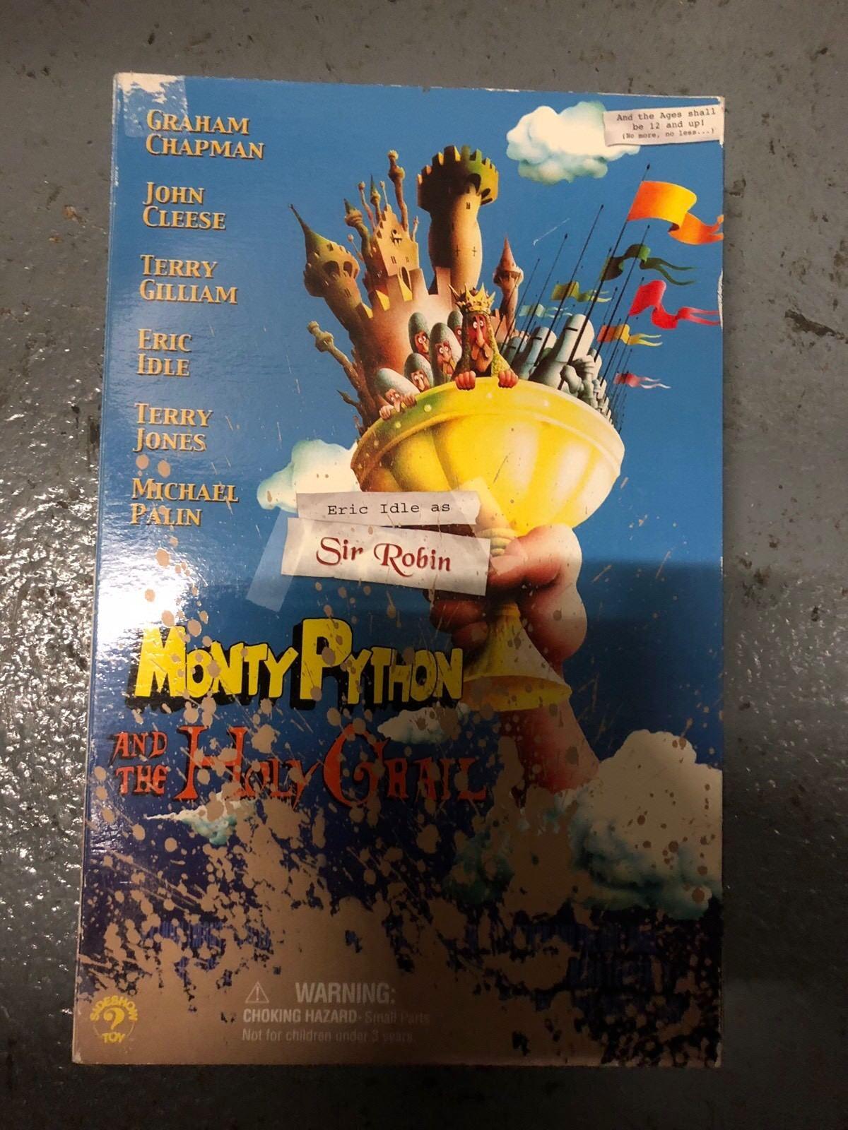 Sideshow Monty Python Holy Grail Sir Robin Eric Idle  AF SSC 207