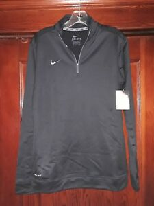 para Nuevo Nike 2 Dri Fit mujer talla negro mediana 1 Zip wrYArqTn