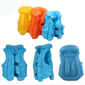 1PCS-Children-Inflatable-Swimming-Pool-Vest-Baby-Float-Aid-Jacket-Training-Beach