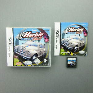 Nintendo-Jeu-DS-Disney-Herbie-Rescue-Rallye-Emballage-D-039-Origine-avec-Manuel