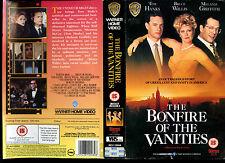 The Bonfire Of The Vanities - Tom Honks - Video Sleeve/Cover #17142