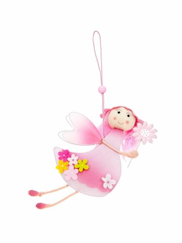 Mousehouse Set di 3 rosa deliziosa fata Children/'S ROOM Decorazioni Per Ragazze