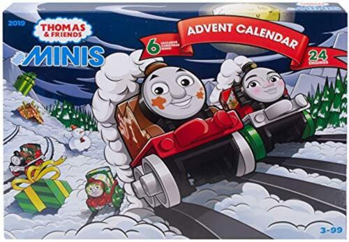 Thomas /& Friends GGM30 MINIS Advent Calendar 2019 Thomas The Tank Engine