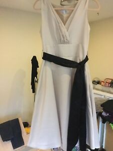 search for original lovely design free delivery Details about Ladies next evening dress size 14 cream worn once