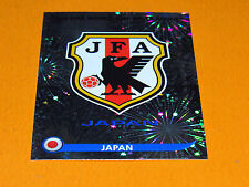 373 BADGE JAPAN NIPPON JFA PANINI FOOTBALL FIFA WORLD CUP 2010