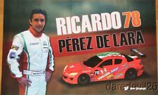2013 Ricardo Perez De Lara Racers Edge Mazda RX-8 GT Rolex 24 Grand Am postcard