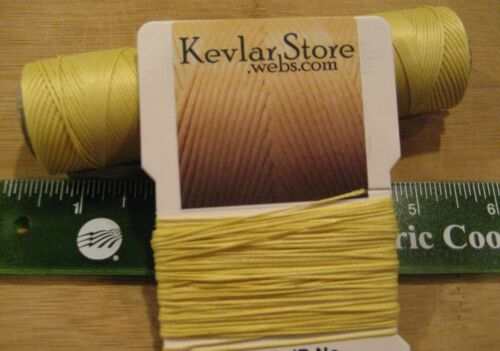 70lb test Braided Kevlar ~ 900ft Increments ~ Natural Yellow ~ FREE SHIPPING!