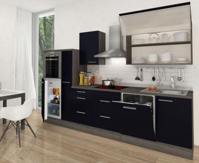Respekta Premium incasso cucina angolo cottura 310 cm rovere Grigio ...