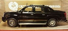 ANSON 2002 CADILLAC ESCALADE EXT COLLECTOR'S QUALITY MODEL DIECAST BLACK
