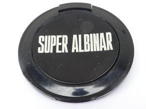 Usé Super Albinar 49mm Lentille Avant Bouchon Noir Encliquetable Type Plastique