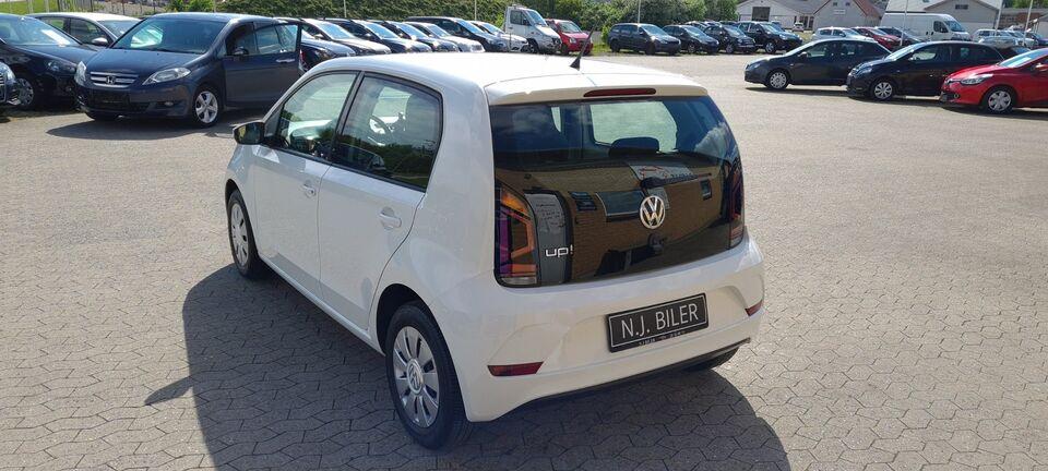 VW Up! 1,0 MPi 60 White Up! BMT Benzin modelår 2018 km 37000