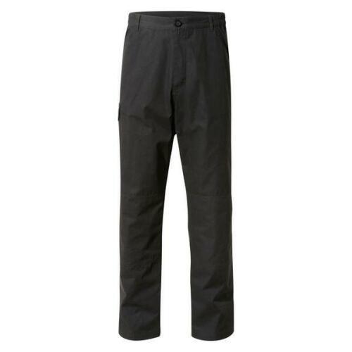 "Homme Taille 40/"" Regular-Craghoppers Discovery aventures Pantalon Cargo-Noir"