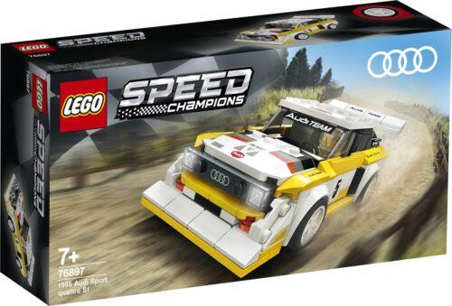 LEGO Speed Champions 76897 1985 Audi Sport quattro S1 NEU und OVP