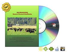 CDFA Bureau of Livestock Identification The 2010 California Brand Book On CDROM