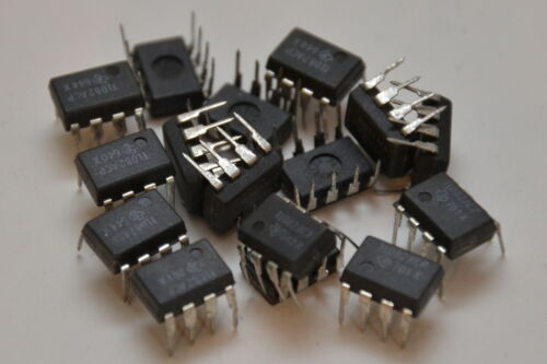 10x Texas Instruments TL082ACP IC Baustein J-FET PDIP-8