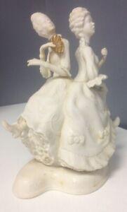 THE-BOEHM-STUDIO-Vintage-Ugly-Step-Sisters-Collectible-Porcelain-Figurine-SR