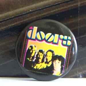 Rare-Vintage-Pin-Metal-Pinback-1980s-80s-Rock-Doors-Band-Shot-Jim-Morrison