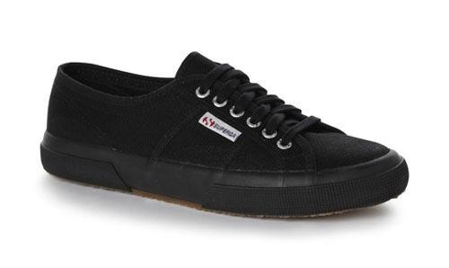 scarpe da ginnastica SUPERGA COTU CLASSIC 2750 Nero | Credibile Prestazioni  | Scolaro/Ragazze Scarpa
