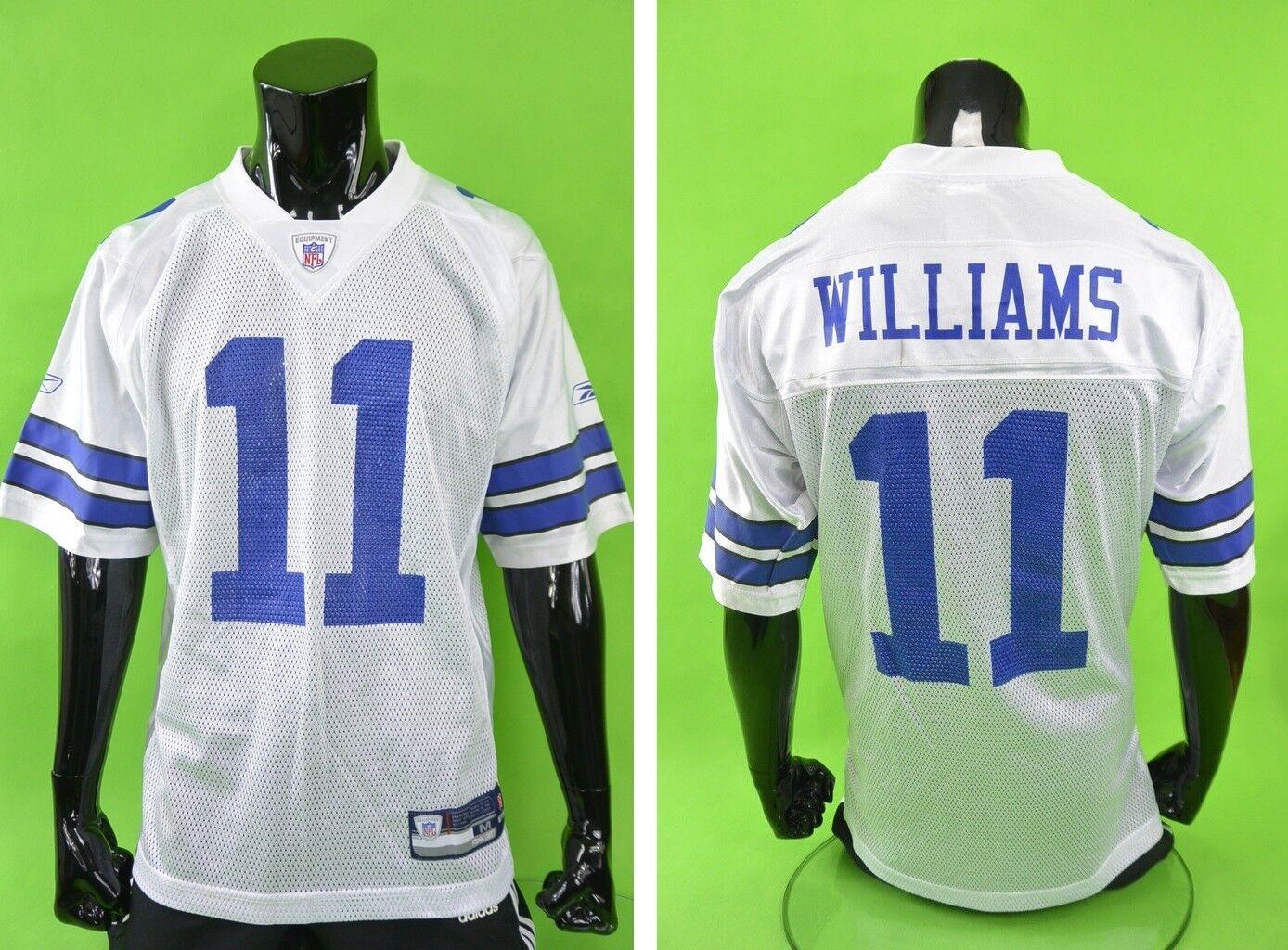 Reebok Dallas Cowboys WILLIAMS 11 NFL Mens American Football Jersey Shirt SIZE M