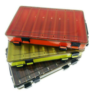 Tackle-Box-Angelkoffer-Karpfen-Kunstkoederbox-Kunst-Koeder-Angel-Zubehoer-Box