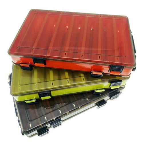 Fishing Baits Case Double Sided Lure Box Fishing Tackle Storage Boxes Plastic