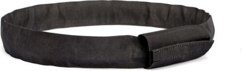 Riggatec Rundschlinge Steelflex Schwarz 1t Nutzlänge:0,5 m Umfang:1,0 m