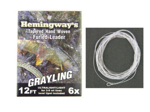 Hemingway/'s Tapered Furled Leaders fly tying leaders