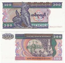 Myanmar Burma 100 Kyats 1994 P-74b NEUF UNC Uncirculated Banknote
