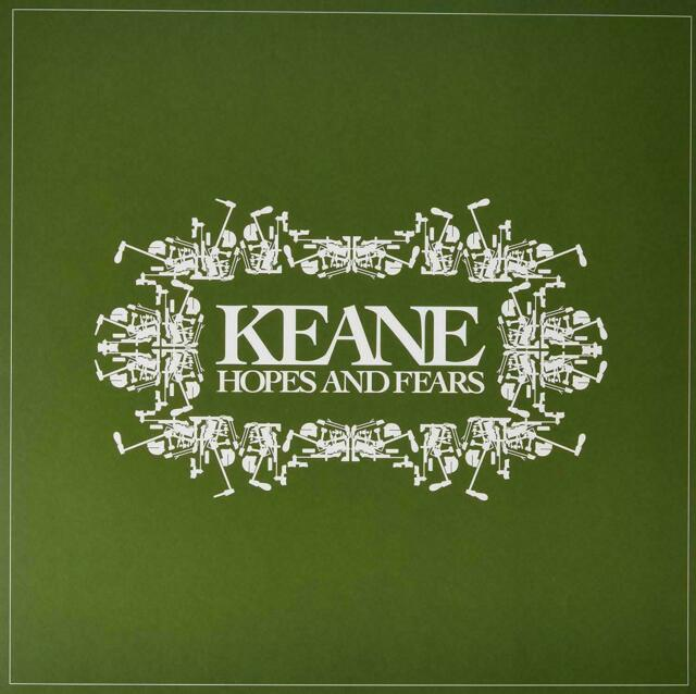 KEANE  HOPES AND FEARS  VINYL  New & Sealed