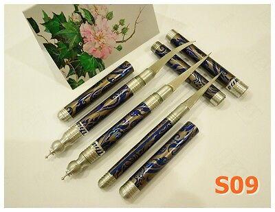 FRUIT CARVING KNIFE 3 PCS/SET THAI KNIVES HANDMADE TOOL SOAP ART FOOD STAINLESS