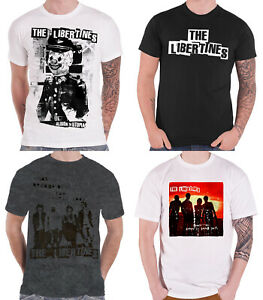 The-Libertines-T-SHIRT-Band-Logo-hymnes-pour-condamne-Youth-officiel-Homme-nouveau