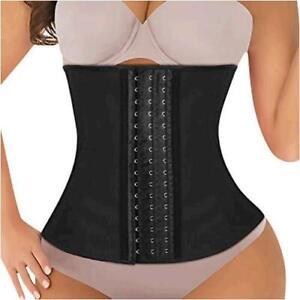 Recredo-Waist-Trainer-for-Women-Black-Size-Medium-waist-25-27-s