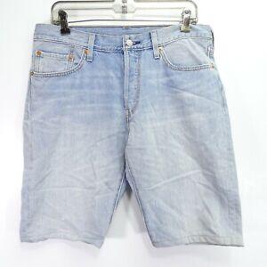 Levi S Nuevo Mujer 501 Up Cycled 100 Denim Algodon Bermuda Pantalones Cortos 31 Ebay