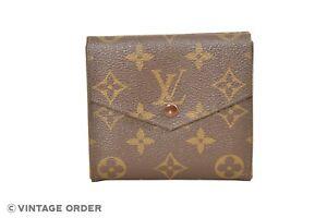 Louis-Vuitton-Monogram-Porte-Monnaie-Billets-Cartes-Wallet-M61652-YF01130