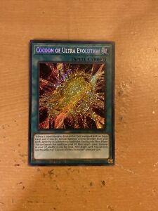 Limited Edition NM LDS1-EN073 Cocoon of Ultra Evolution Secret Rare