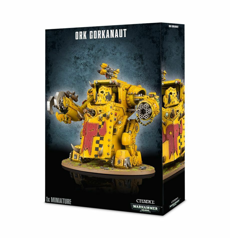 Warhammer 40K Ork Gorkanaut Space Orks plastic New New
