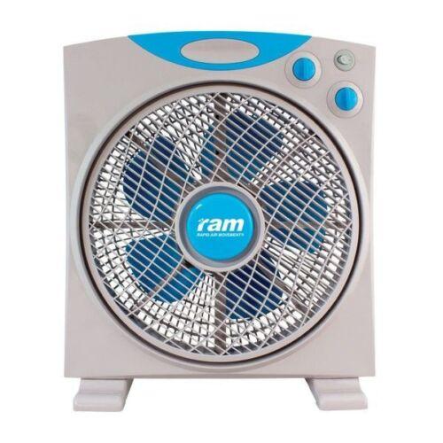 "Ram Eco Fan 12/"" Oscillating 3 Speed Air Circulating Hydroponic"