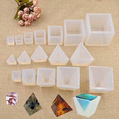 Creative Transparent Geometrical Mould DIY Craft Mold Handmade Tools Silicone