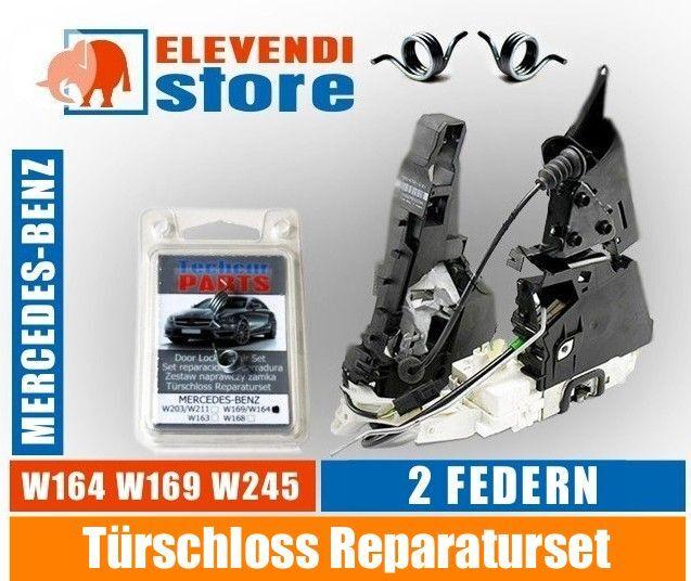 Türschloss Reparaturset - Mercedes ML* A * B * KLASSE- 2 Feder für 2 Schlösser
