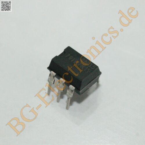 5 x 4N35 Optoisolators Darlington Output 70mW  Vishay DIP-6 5pcs