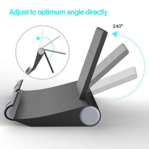 Adjustable Portable Desk Stand Holder Mount For iPhone Phone Tablet Universal