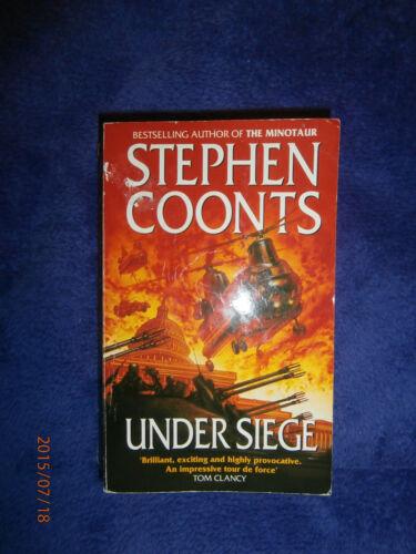 1 of 1 - Under Siege by Stephen Coonts (Paperback, 1991) Thriller