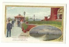 Old Postcard Hotel Chamberlin Fortress Monroe VA Battleship Fleet Hampton Roads