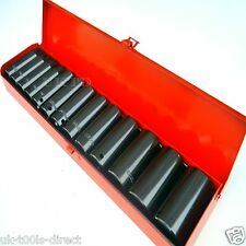 "1/2"" Deep Drive Impact Socket Set Kit **Cr-v Steel**10 - 32mm**Sockets**"
