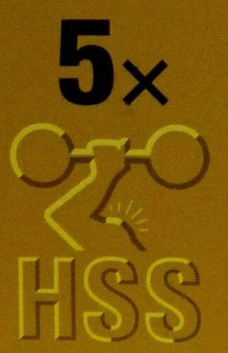 U-Aufnahme Piranha Stichsägeblätter HI-TECH HSS für Alu V X29235 Metall
