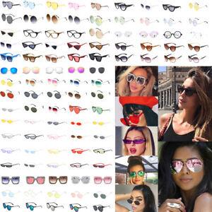 Fashion-Vintage-Women-Kaleidoscope-Oversize-Square-Cat-Eye-Gradient-Sunglasses