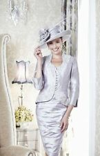 Ian Stuart Mother of the Bride ISL469 Grey Pearl Size 14 BRAND NEW £1510