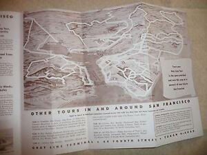 Vintage pamphletcartoon map san francisco berkeley oakland marine image is loading vintage pamphlet cartoon map san francisco berkeley oakland publicscrutiny Image collections