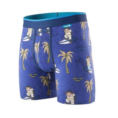 Stance Surf Monkey Cotton Boxer Navy Stance Underwear Boxers